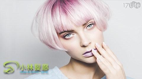洗髮/剪髮/單色染/挑染/造型染/燙捲/冷燙/髮質保養/造型吹整/小林/髮廊
