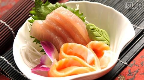 日式深海刺身/和风熏鲑鱼/红酒绍兴醉鸡/红烧嫩牛腱/菩提素味双菇(5选