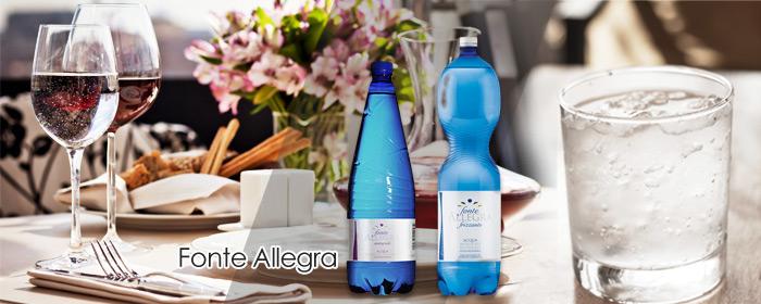 義大利 Fonte Allegra-亞莉佳微氣泡礦泉水 來自阿爾卑斯山脈的泉水禮讚,擁有細緻天然氣泡與深層的礦泉芳香,為五星飯店指定佐餐水