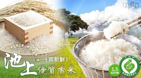 買新鮮/產銷/履歷/CNS/一等/池上/優質/香米