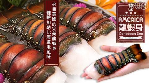 買新鮮-加勒比海頂級龍蝦身