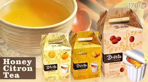 韓國Honey Citron Tea-膠囊蜂蜜柚子茶/蜂蜜紅棗茶/蜂蜜生薑茶