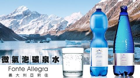 義大利亞莉佳Fonte Allegra-微氣泡礦泉水