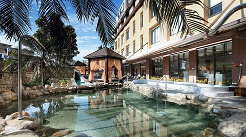 平均每張最低只要230元起即享【沐舍溫泉渡假酒店】露天風呂spa平日劵1張/2張/4張/10張。