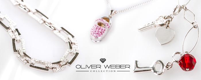 OLIVER WEBER-項鍊/耳環 精鑲動人純淨水晶,述說心動時分愛戀代號,流露嫵媚靈動韻致,舉手投足間閃耀璀璨光芒