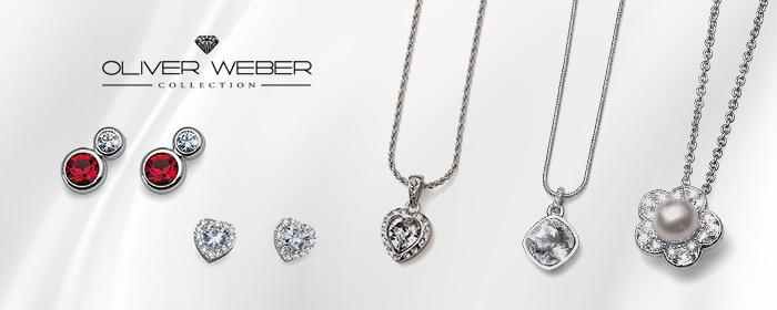 OLIVER WEBER-耳環/項鍊 OLIVER WEBER奧地利奢華晶鑽,簡約設計盡現優雅質感,璀璨光芒耀眼,滿載心意的唯美光澤