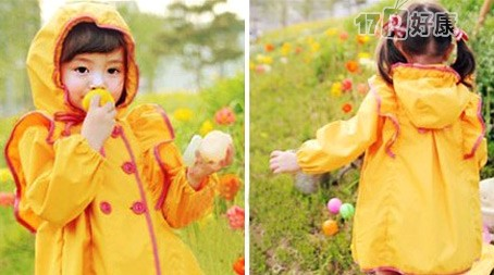 日韩畅销成人雨衣/超萌儿童雨衣-大人俏丽,小孩可爱,!