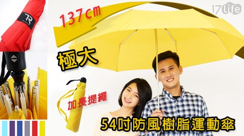 TDN-極大54吋防風樹脂運動傘