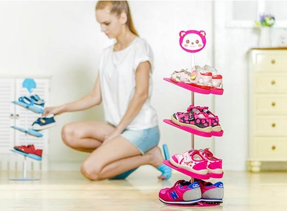 兒童/鞋子/鞋架/日式/卡通圖案/立體/兒童鞋架組