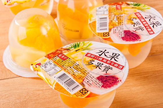 盛香珍/多果實果凍/葡萄/白桃/蜜柑/果凍/點心/零食/零嘴/甜食/甜點