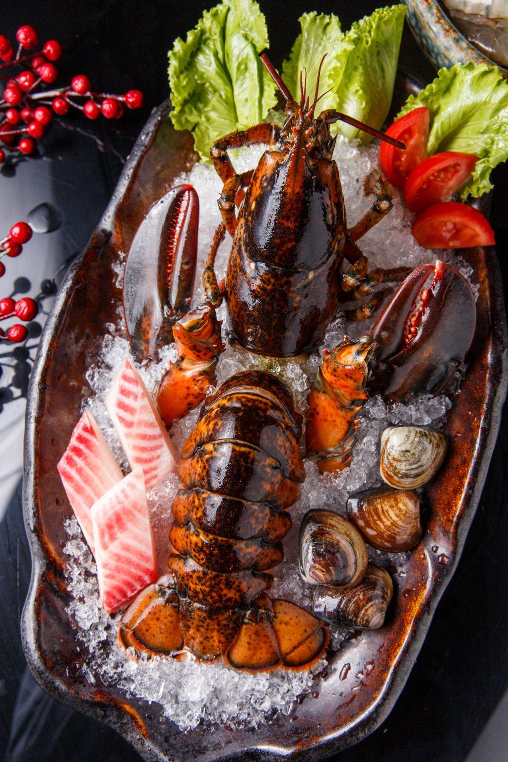凱越越南風味小火鍋-雙人活龍蝦/大鮮蝦鍋物/龍蝦/蝦/火鍋/鍋物