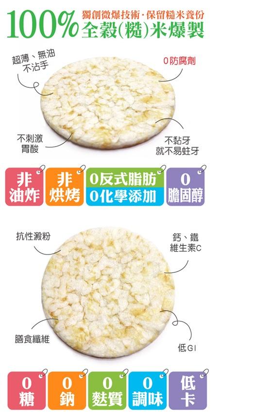 Prize派姿/寶寶/零嘴/零糖/零鈉/原味/米餅
