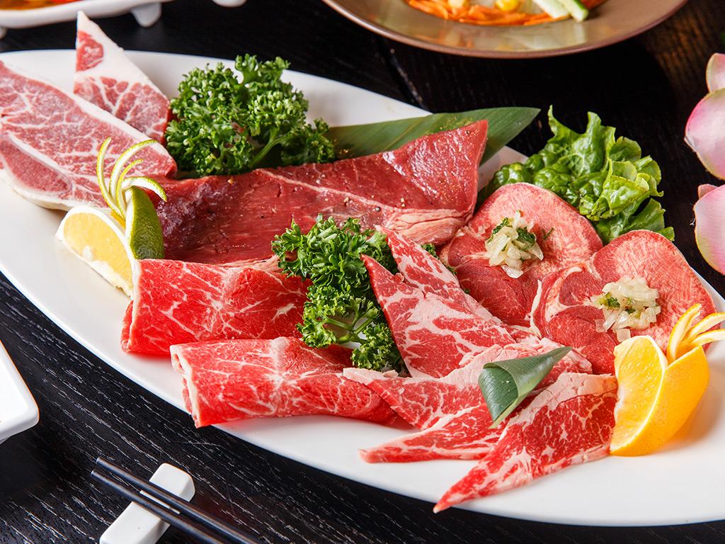 皇上吉饗極品唐風燒肉/燒肉/台北東區燒肉/奢華唐風/一夜干/松阪豬/牛舌