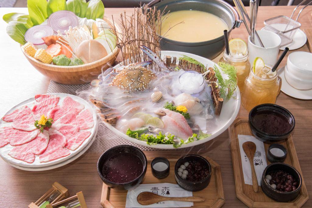 青森鍋物-雙人極鮮頂級海陸限定鍋物