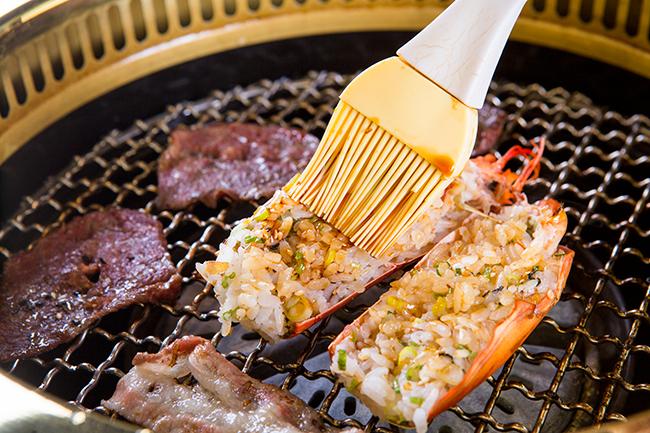 紅巢燒肉工房《公益旗艦店》-全龍蝦海陸雙人套餐