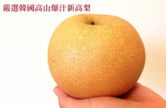 韓國/嚴選/特選/巨無霸/高山/爆汁/新高梨/伴手禮/雪梨/禮盒/水果/甜度/甜/脆
