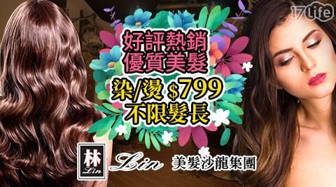 Lin美髮沙龍/好評熱銷/染燙799/台北美髮/桃園美髮/韓系燙髮