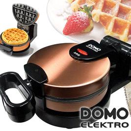 比利時DOMO-厚片無段式大翻轉鬆餅機(DM9006AWT)