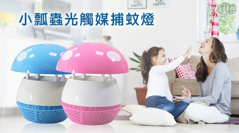 捕蚊/小瓢蟲/光觸媒/捕蚊燈/捕蚊器/捕蚊之家/光觸媒捕蚊燈