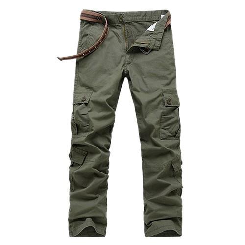 男款透氣涼感多口袋工作褲 1入/組