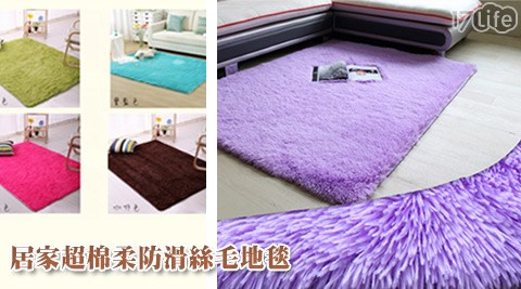 居家/超棉柔/防滑/絲毛地毯/地毯/保暖/地墊