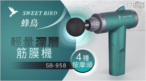 筋膜機/按摩/蜂鳥/SB-958/舒壓