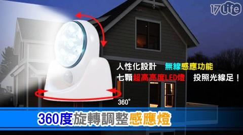 360度旋轉調整感應燈/壁燈/照明燈/感應燈/360度/燈/照明