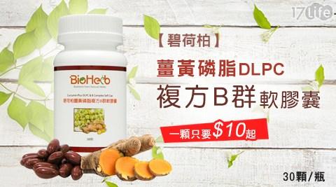 碧荷柏/薑黃/磷脂/DLPC/複方/B群/軟膠囊/保健/體力/活力