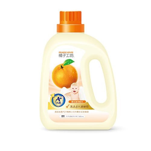 【橘子工坊】衣物清潔嬰兒洗衣精900ml*1罐+補充包800ml*2包+葇葇衛生紙1串(6包)共 1箱/組