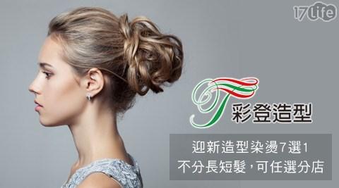 美髮/彩登造型/洗髮/剪髮/染髮/挑染/燙髮/離子燙/冷燙/空氣燙/質感燙