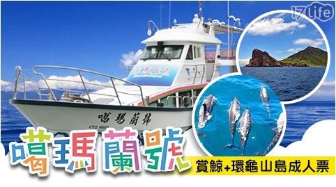 噶瑪蘭號/宜蘭/頭城/龜山島/賞鯨