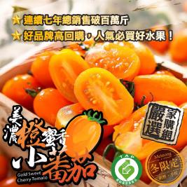 高雄美濃橙蜜香小蕃茄-冬季最強水果
