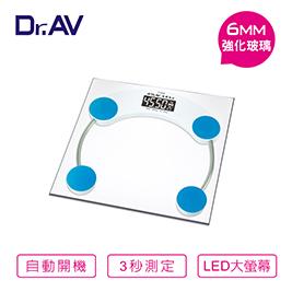 Dr.AV超精準 電子體重計