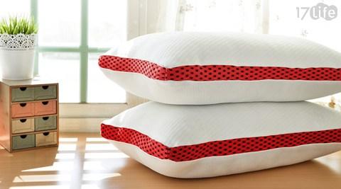 LooCa/透氣3D獨立筒釋壓枕/獨立筒/釋壓枕/透氣/3D/枕頭/枕心/寢具