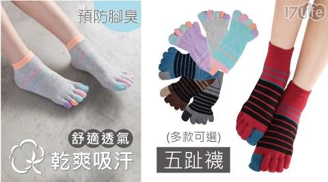 貝柔/台灣製/乾爽/抑菌/柔棉/透氣/五指襪/短襪/襪子