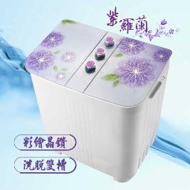 ZANWA晶華 4KG花漾雙槽洗衣機ZW-168D