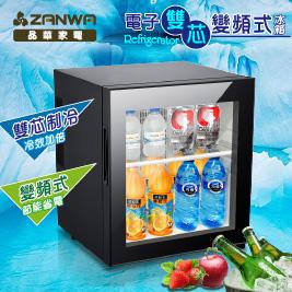 ZANWA晶華 電子雙芯變頻式冰箱LD-30STF