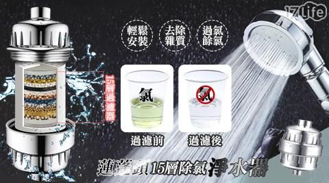 蓮蓬頭淨水器/淨水器/除氯
