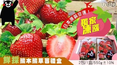 挑戰全通路最低優惠!17Life獨家凍價再降,空運新鮮草莓500元有找,超萌部長融化心頭,酸甜好滋味聖誕節最好的禮物!