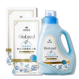 【台塑生醫 BioLead】抗敏原濃縮洗衣精嬰幼兒衣物專用