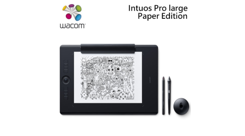 Wacom Intuos Pro Paper Edition Large PTH-860觸控繪圖板雙