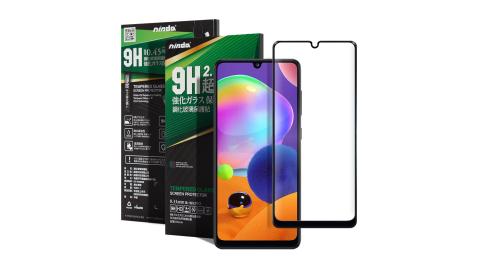 NISDA for 三星 Samsung Galaxy A31 完美滿版玻璃保護貼 -黑