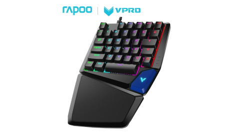 Rapoo 雷柏 V550RGB 35鍵 電競鍵盤(青軸)