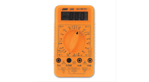 經濟型數位三用電錶CHY-36B