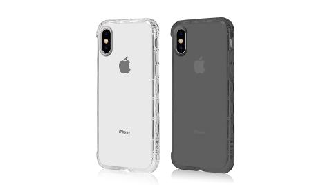 PJ-DESIGN 專利認證 軍規等級 iPhone Xs 5.8吋 氣囊防摔透明殼