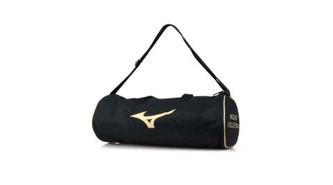 MIZUNO 3入裝排球袋-3顆裝 手拿袋 手提袋 肩背袋 收納袋 球袋 美津濃 黑金@V3TB9X0195@