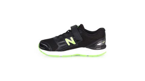 NEWBALANCE 680系列 男兒童慢跑鞋-WIDE-路跑 NB 寬楦 黑螢光綠@YD680BG@