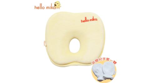 hello mika 米卡 天鵝絨蘋果枕 (附枕套, 送有機棉嬰兒雙層手套)