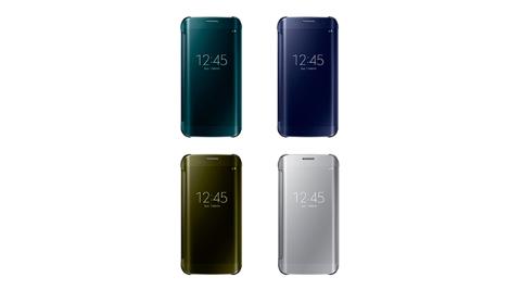 Samsung Galaxy S6 edge Clear View 原廠感應皮套