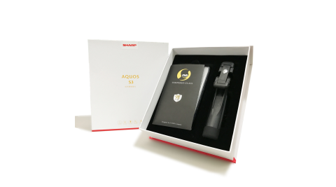 Sharp AQUOS S3 經典大禮包※內含藍牙自拍棒+防摔空壓殼+鋼保+USB傳輸線※